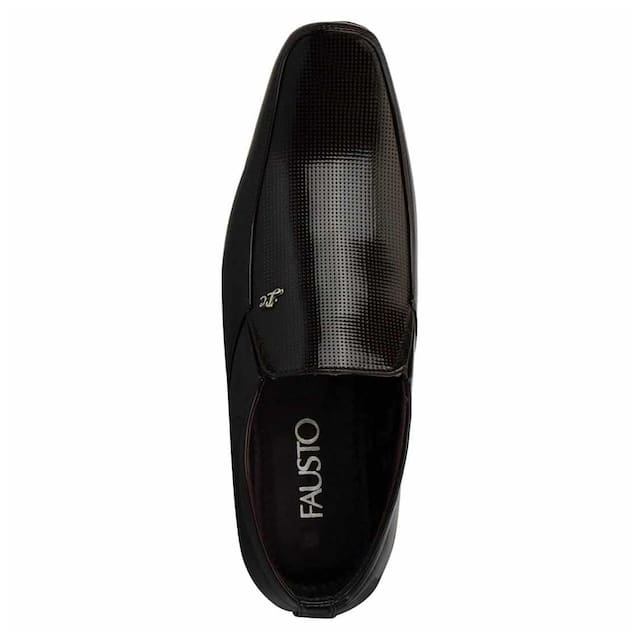 Fausto Men Brown Formal Shoes - Fst 3236