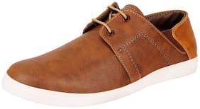 FAUSTO Men Brown Sneakers