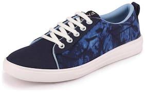 FAUSTO Women Navy Blue Slip-On Shoes