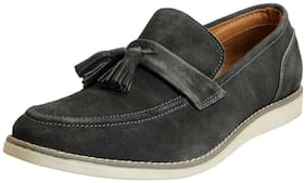 FAUSTO Men Grey Loafer
