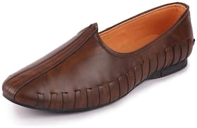 FAUSTO Men Brown Ethnic