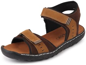 FAUSTO Men Brown Floaters