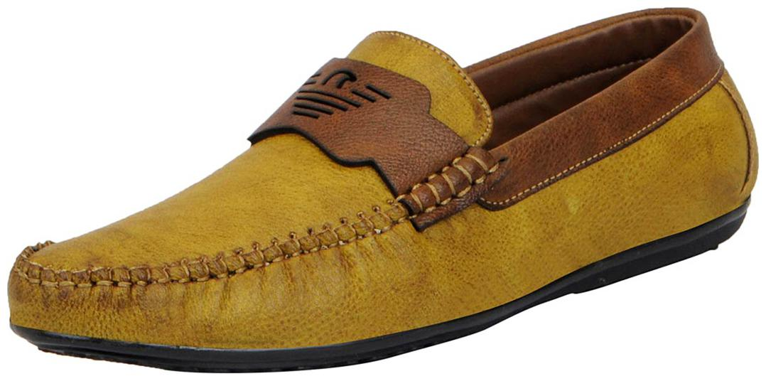 FAUSTO Loafers For Men   Brown   by Fashos