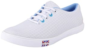FAUSTO Men White Sneakers
