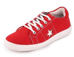 FAUSTO Women Red Sneakers