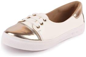 FAUSTO Women White Casual Shoes