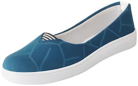 FAUSTO Women Blue Bellie