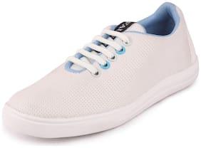 FAUSTO Women White Sneakers