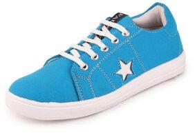 FAUSTO Women Blue Sneakers