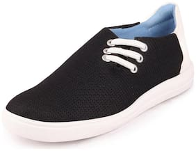FAUSTO Women Black Sneakers