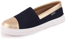 FAUSTO Women Blue Casual Shoes