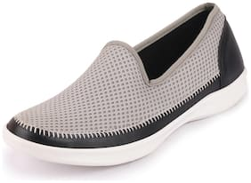FAUSTO Women Grey Loafers