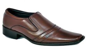 FDD Men Brown Formal Shoes