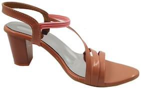 FEEL FEET Women Pink Sandals