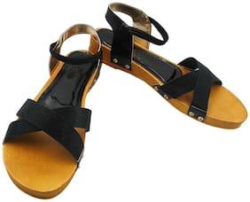 FEEL FEET Women Yellow Sandals