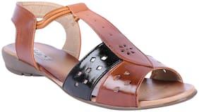 Feel It Women Tan Sandals