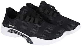 Stylish & Comfortable Walking Shoes For Men ( Black )