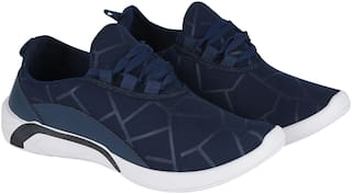 FEENS Walking Shoes For Men ( Blue )