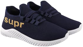 Stylish & Comfortable Walking Shoes For Men ( Blue )