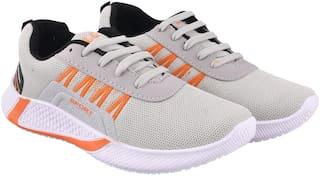 FEENS Walking Shoes For Men ( Grey )