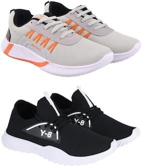 Stylish & Comfortable Walking Shoes For Men ( Multi-Color )