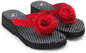 Women Slippers ( Red )