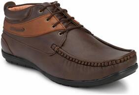 Fentacia Men's Brown Ankle Boots
