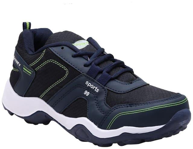 Fhonex Men Navy Blue Running Shoes - Fsport99navybluepgreen