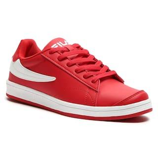 Fila Women Red Sneakers