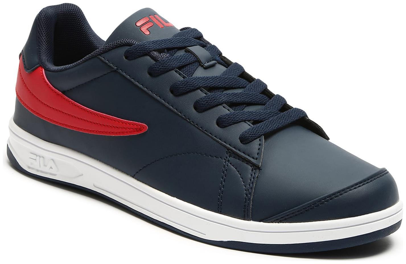 Fila ANDREW LOW PU Men Blue Classic Sneakers   Andrew low pu