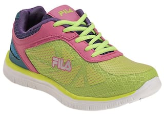 c4b7c9ea2abe Buy Fila Women s Multicolor Sports Shoes Online at Low Prices in ...