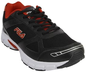 2932beb5fba6 Fila Men Black Running Shoes