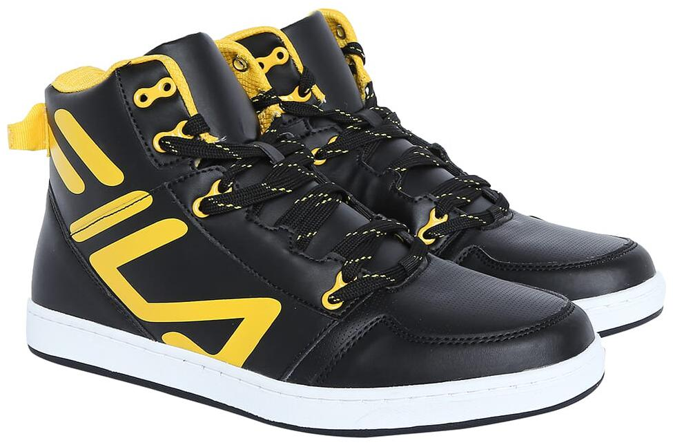 fila high ankle sneakers