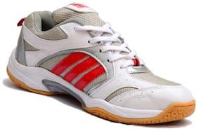 Firefly Men Non Marking Badminton/Squash Shoes (White)