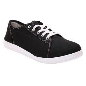 Firemark Men Black Canvas Shoes