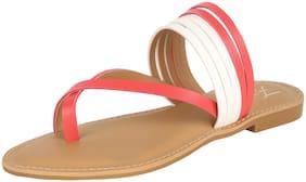 FITEH Women Pink Sandals