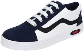 FITEH Women Blue & White Sneakers