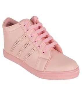 FITEH Women Pink Sneakers