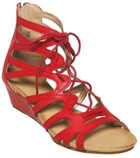 Flat n Heels Women Black Sandals