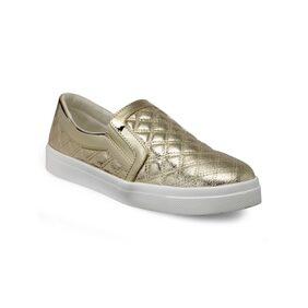 Flat n Heels Gold Flat Sneakers