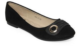 Flat n Heels Women Black Bellie