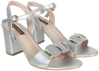 Flat n Heels Sandals For Women ( Silver ) 1 Pair