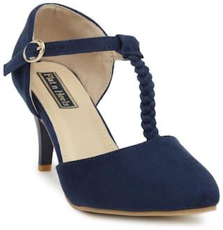 Flat n Heels Navy Heels