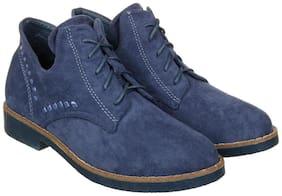 Flat n Heels Women Blue Boot