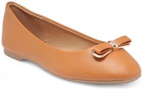 Flat n Heels Women Tan Bellie