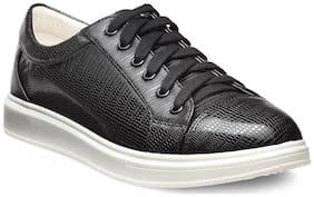 Flat n Heels Women Black Casual Shoes