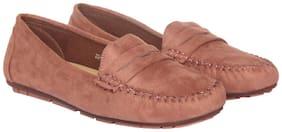 Flat n Heels Pink Casual ShoesFor Women