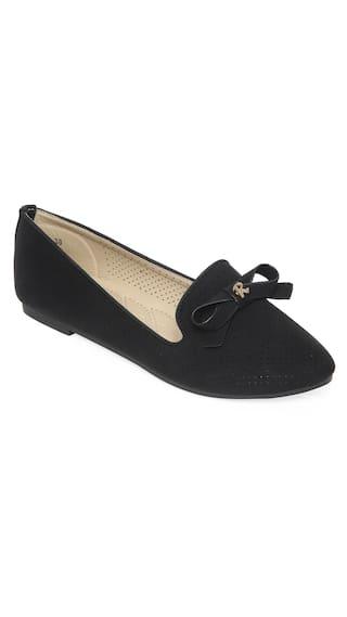 Flat n Heels Women Black Bellie