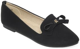 Flat n Heels Women Black Bellies