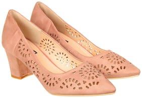 Flat n Heels Pink Pumps